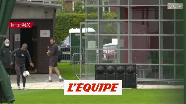 Thiago Alcantara régale à l'entraînement - Foot - WTF - Liverpool