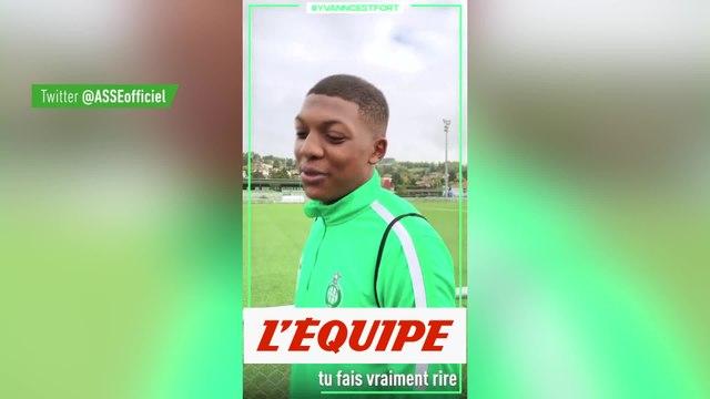 Les Verts soutiennent Yvann Maçon - Foot - WTF - ASSE