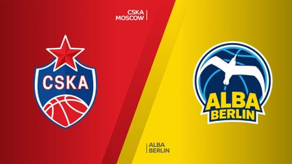 CSKA Moscow - ALBA Berlin Highlights | Turkish Airlines EuroLeague, RS Round 4