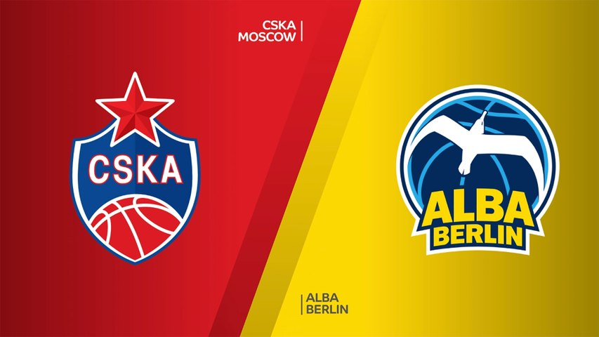 CSKA Moscow - ALBA Berlin Highlights | Turkish Airlines EuroLeague, RS Round 4