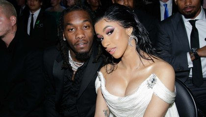 """Cardi B Says She's Officially Back With Offset on IG Live... """"I'm Just a Crazy Bitch"""""""