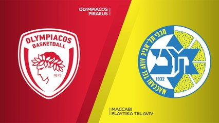 EuroLeague 2020-21 Highlights Regular Season Round 4 video: Olympiacos 85-82 Maccabi