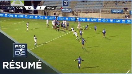 PRO D2 - Résumé Colomiers Rugby-SA XV Charente: 53-11 - J6 - Saison 2020/2021