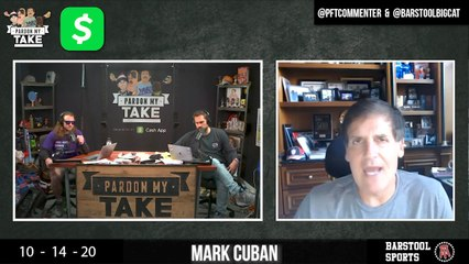 PMT 10/14 - Mark Cuban, Tuesday Night Football, Taylor Lewan & Will Compton And More