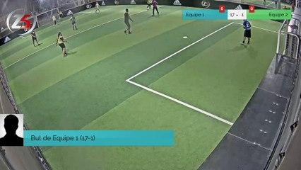 But de Equipe 1 (17-1)