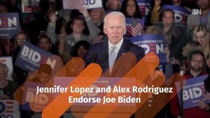 J Lo Backs Biden