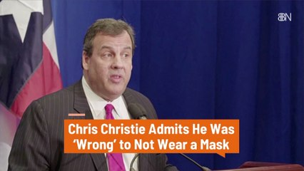 Chris Christie Admits A Mistake