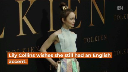 The Accent Of Lily Collins