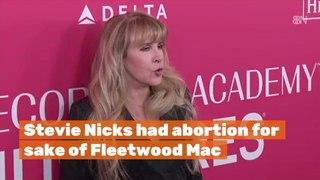 Stevie Nicks' Abortion