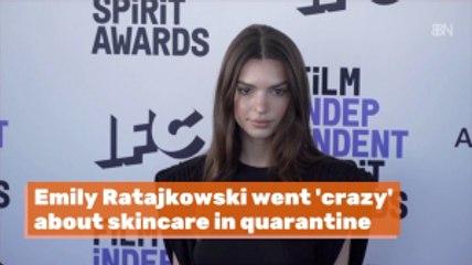 Emily Ratajkowski Is All About Skincare