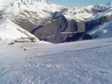 Julie snowboard ucpa les deux alpes 2008