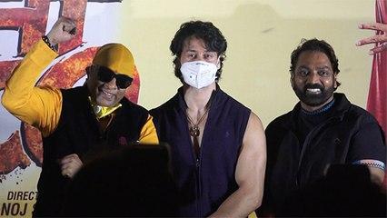 Tiger Shroff Unveils The Poster Of Film Dehati Disco   Ganesh Acharya