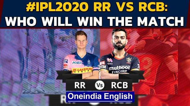 IPL 2020, RR vs RCB: Steve Smith and side eye win to keep play-offs hope alive | Oneindia News