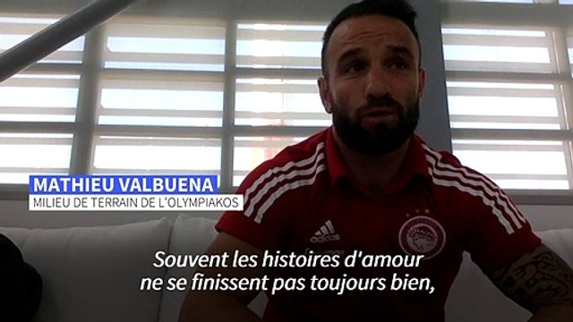 """Foot/Mathieu Valbuena: """"Je suis lié à vie à l'OM"""""""