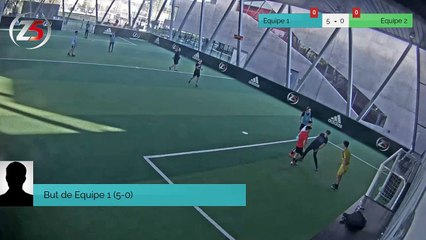 But de Equipe 1 (5-0)