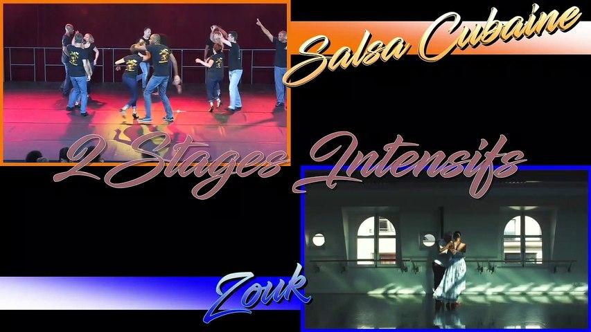 2020 - 2 Stages Intensifs de Salsa Cubaine & de Zouk - le 08 novembre à Évidanses by Occo Style