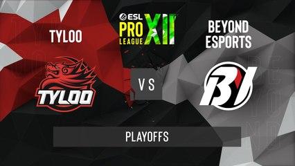 CSGO - TYLOO vs. Beyond [Nuke] Map 1 - ESL Pro League Season 12 - Playoffs - Asia