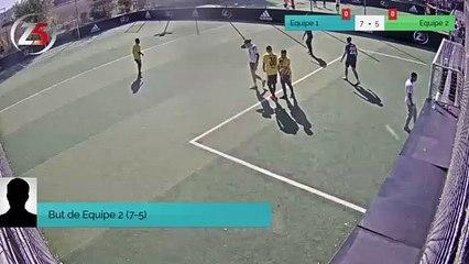 But de Equipe 2 (7-5)