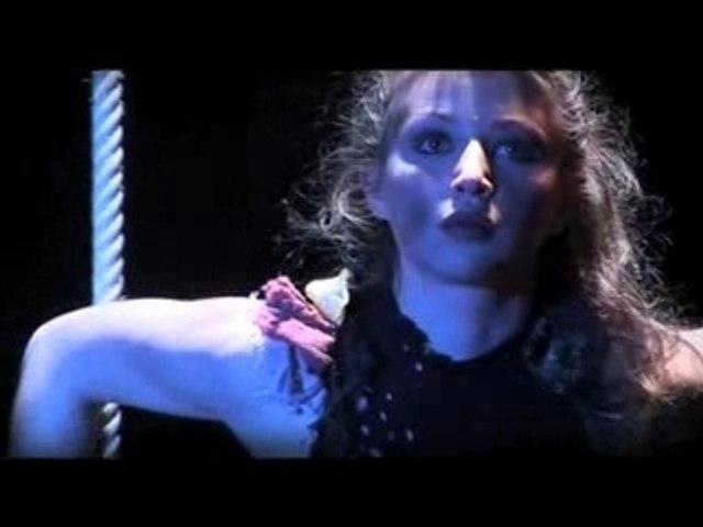Elsa Birgé sur son trapèze