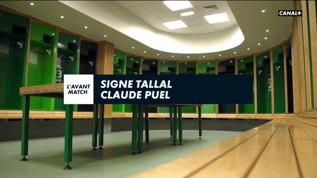 Signé Tallal avec Claude Puel