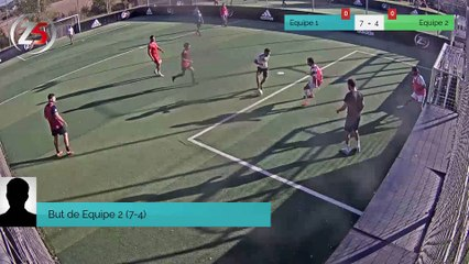 But de Equipe 2 (7-4)