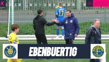 Duell zweier Aufstiegsaspiranten: 1. FC Lokomotive Leipzig – VfB Fortuna Chemnitz (U19 Landesliga)