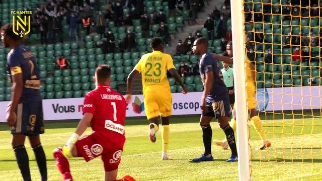 FC Nantes - Stade Brestois : les buts vus de derrière