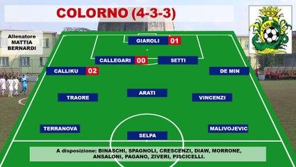 Colorno_- Salsomaggiore 3-1, highlights e interviste
