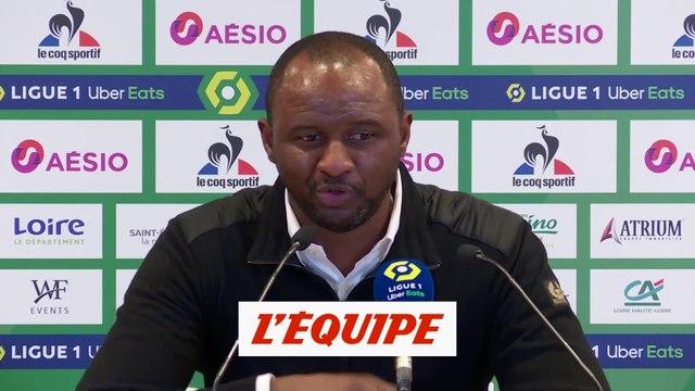 Vieira : « Assez solides » - Foot - L1 - Nice