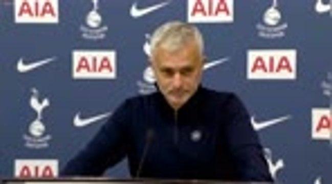 """Tottenham - Mourinho : """"On ne peut pas perdre deux points comme ça"""""""
