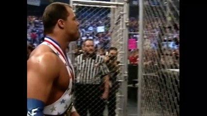 The Rock vs Stone Cold Steve Austin vs Triple H vs The Undertaker vs Kurt Angle vs Rikishi - Armageddon 2000