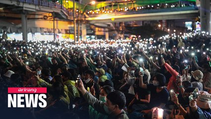 Anti-government protests continue in Thailand despite ban on protets