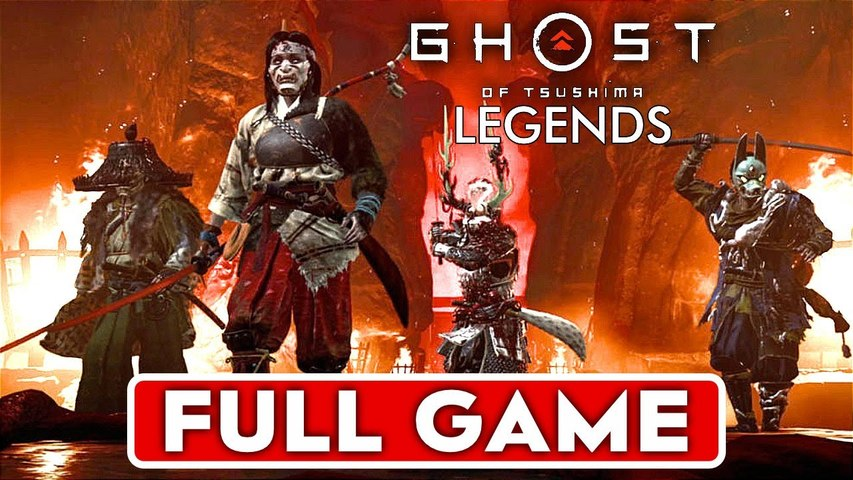 GHOST OF TSUSHIMA LEGENDS Gameplay Walkthrough FULL GAME