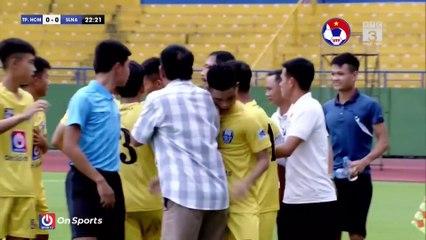 Highlights | U15 TP. Hồ Chí Minh – U15 Sông Lam Nghệ An | Hat-trick của Phan Anh Tài | VFF Channel
