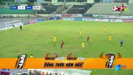 Highlights - SLNA – Hải Phòng FC - Phan Văn Đức vỡ òa, Văn Toản nổi nóng phút 91 - NEXT SPORTS
