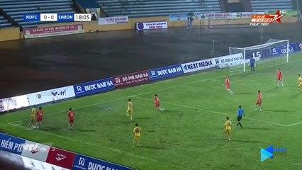 Màn -nghịch nước- dị nhất lịch sử V.League giữa DNH Nam Định và SHB Đà Nẵng - NEXT SPORTS