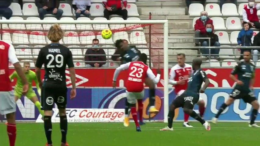 L1 - Le résumé vidéo de la rencontre Stade de Reims - FC Lorient (1-3)