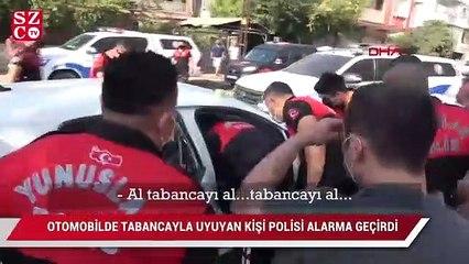 Polis alarma geçti: Camı kırıp kurtardı