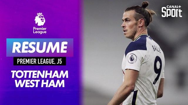 Le résumé de Tottenham - West Ham en VO