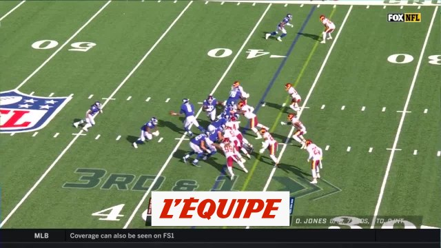 Les temps forts de New York Giants - Washington Football Team - Foot US - NFL