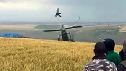 Governor cheats death, survives helicopter crash