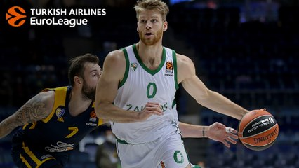 Thomas Walkup in Zalgiris's 2019 late winning streak