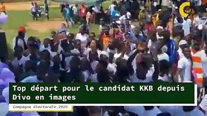 Top départ pour le candidat KKB depuis Divo en images