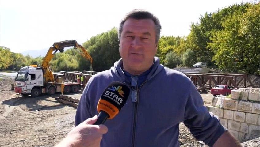 Ολοκληρώνεται η γέφυρα στο Παλιούρι του δήμου Μακρακώμης
