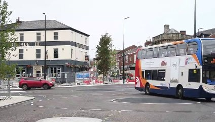 Roundabouts open at the bottom of Friargate