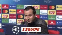 Stéphan : « Quon puisse se lâcher tout de suite » - Foot - C1 - Rennes