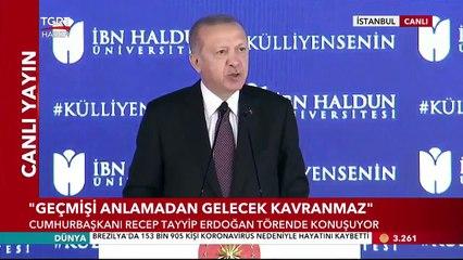 Cumhurbaşkanı Erdoğan'dan 'Eğitim Reformu' Mesajı