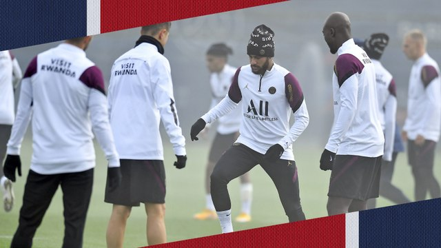 Replay : 15 minutes d'entraînement avant Paris Saint-Germain - Manchester United