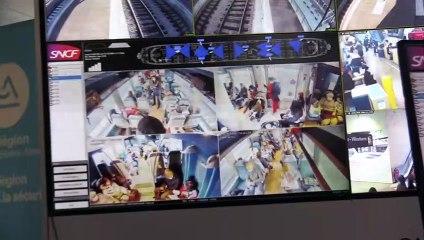 Région : la vidéosurveillance en direct dans les TER testée entre Saint-Etienne et Lyon - Reportage TL7 - TL7, Télévision loire 7