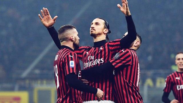La réponse énorme de Zlatan Ibrahimovi? à Romelu Lukaku après le derby | Oh My Goal